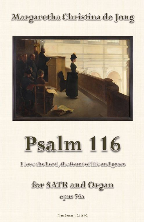 Psalm 116 ('I love the Lord, the fount of life and grace')