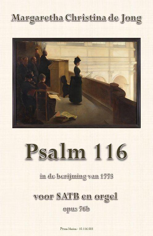 Psalm 116 ('God heb ik lief', Nederlandse tekst, berijming 1773)
