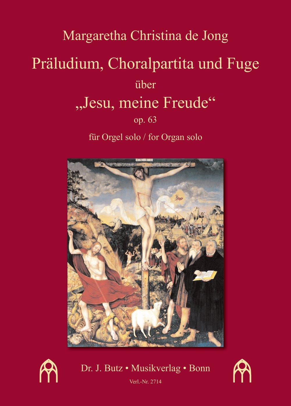 """Präludium, Choralpartita und Fuge über """"Jesu, meine Freude"""""""