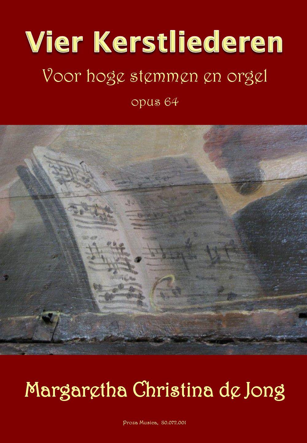 Vier Kerstliederen voor hoge stemmen en orgel