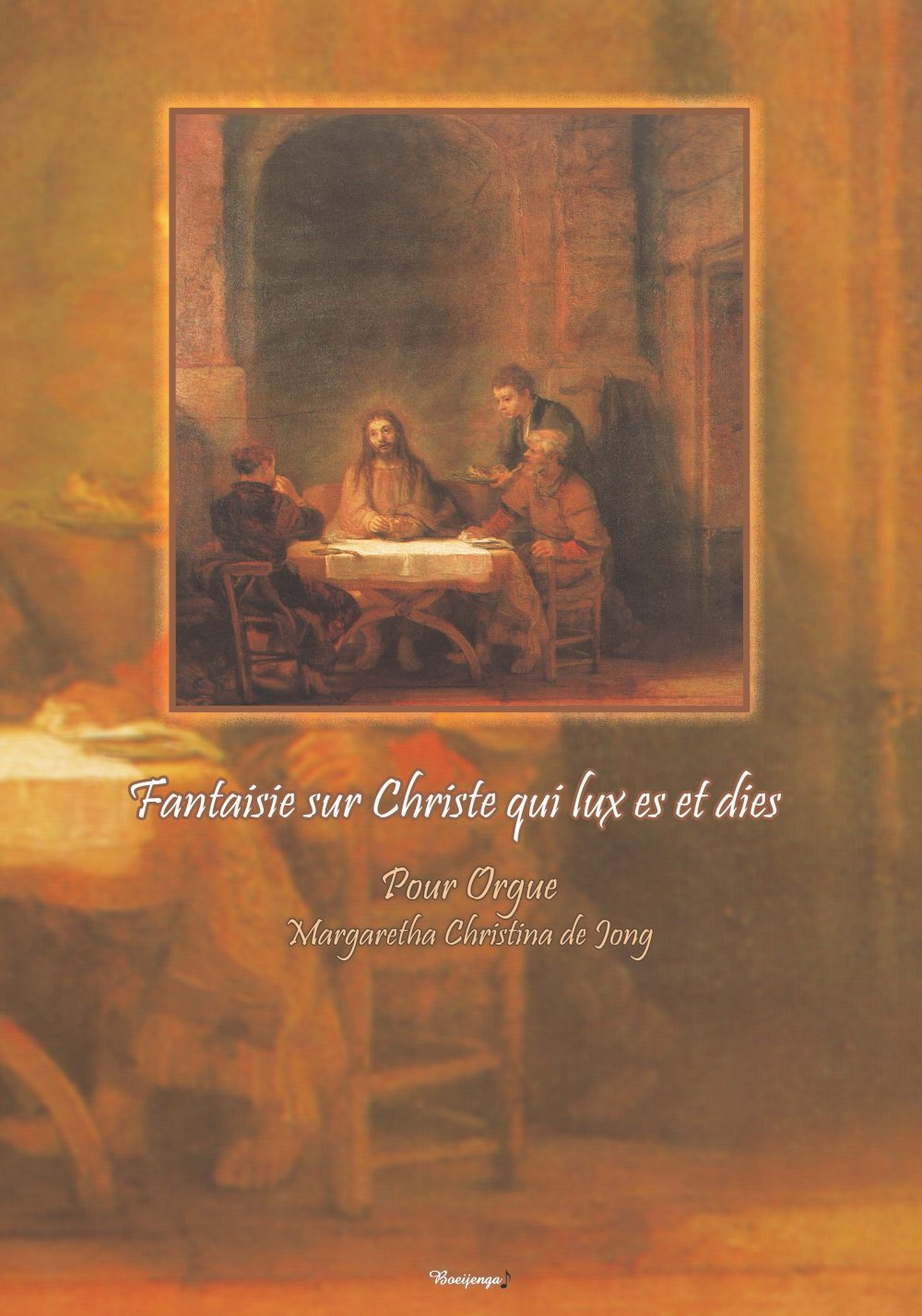 "Fantaisie sur ""Christe qui lux es et dies"""