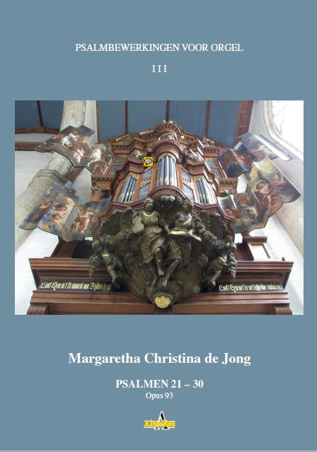 Psalmbewerkingen voor Orgel III